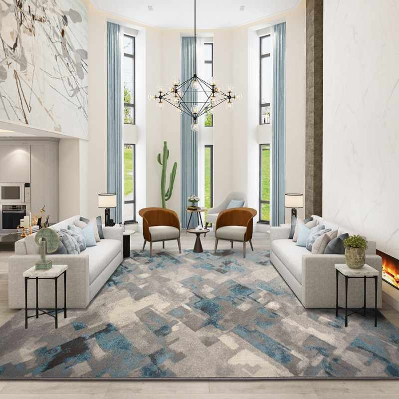 Modern Large Wilton Woven Carpet Home Living Room And Bedroom Rug Sofa  Coffee Table Floor Mat Study Room Nordic Carpets And Rugs