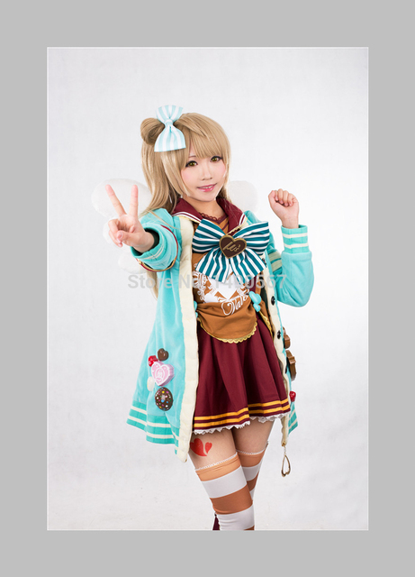 love live minami kotori sweet chocolate valentines day cos dress cosplay costume halloween costume for women - Valentine Costumes