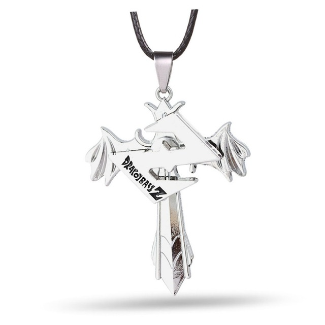 Dragon Ball Z Crucifix Necklace