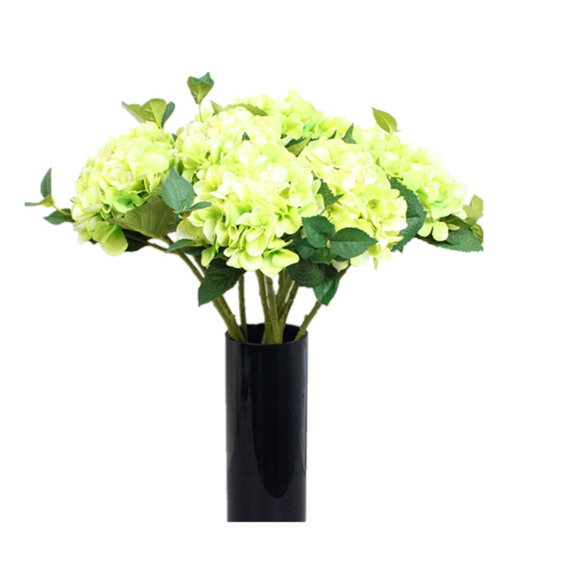 5pcslot green display flower hydrangea home decorative artificial 5pcslot green display flower hydrangea home decorative artificial flower wedding party event romantic silk flower free shipping mightylinksfo