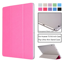 Ultra-thin Cover Case For Huawei MediaPad T3 10 AGS-L09 AGS-L03 9.6 Tablet PC Stand Slim Case For Honor Play Pad 2 9.6 ultra thin bluetooth keyboard case for 9 6 inch huawei mediapad t3 10 ags l09 ags l03 ags w09 tablet pc huawei t3 keyboard case