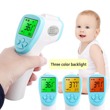 Doctor Toys Professional Digital LCD Infrared Thermometer Non-contact IR Temperature Measurement Meter Diagnostic Tool -17 BM88