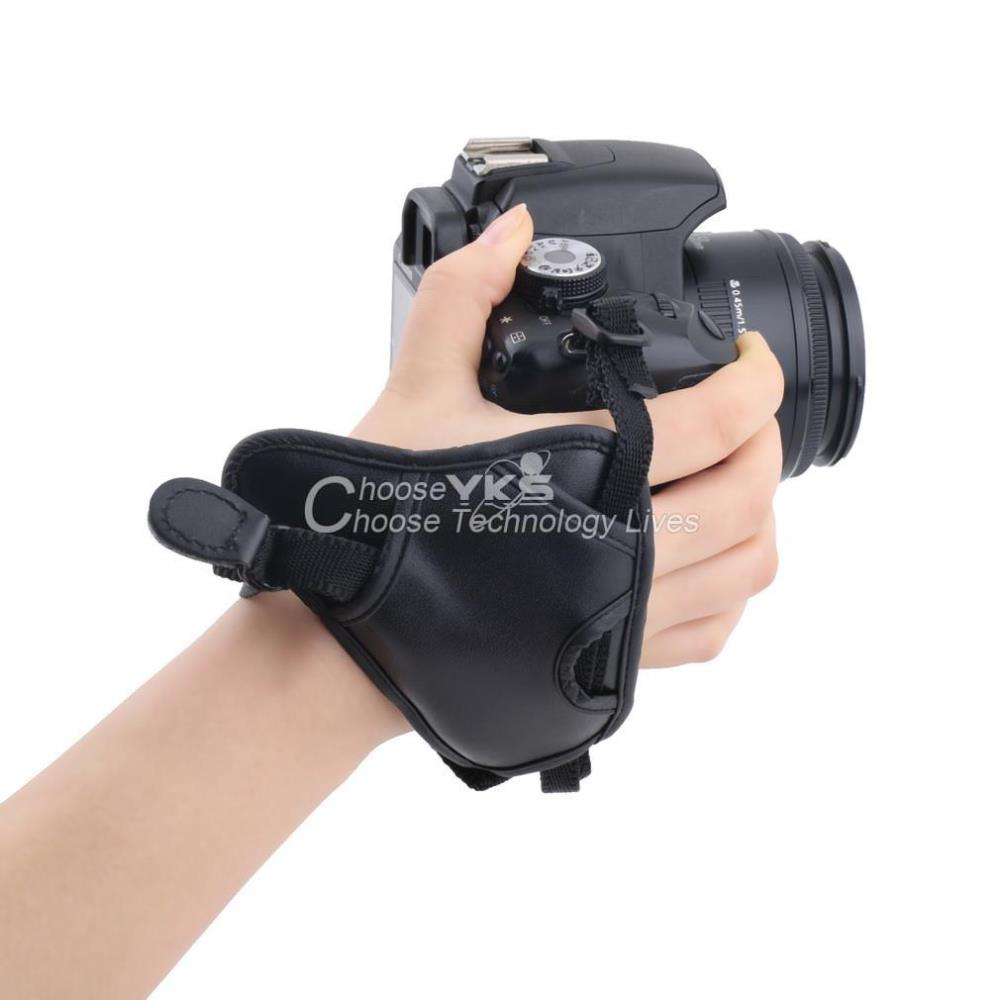 PU Leather Soft Camera Hand Grip Wrist Strap For Canon For Nikon For Sony SLR/DSLR