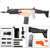 Plastic Combo Pump Kit Decoration Set FN SCAR For Nerf N stryfe Elite Toys Modify Accessory for Nerf Toys Game Player
