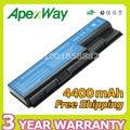 Apexway 14.4 v 4400 mah batería del ordenador portátil para acer aspire 7738 8730 8730g 8730z 8730zg 8735 8920 8920g 8930 8930g 8935 8940