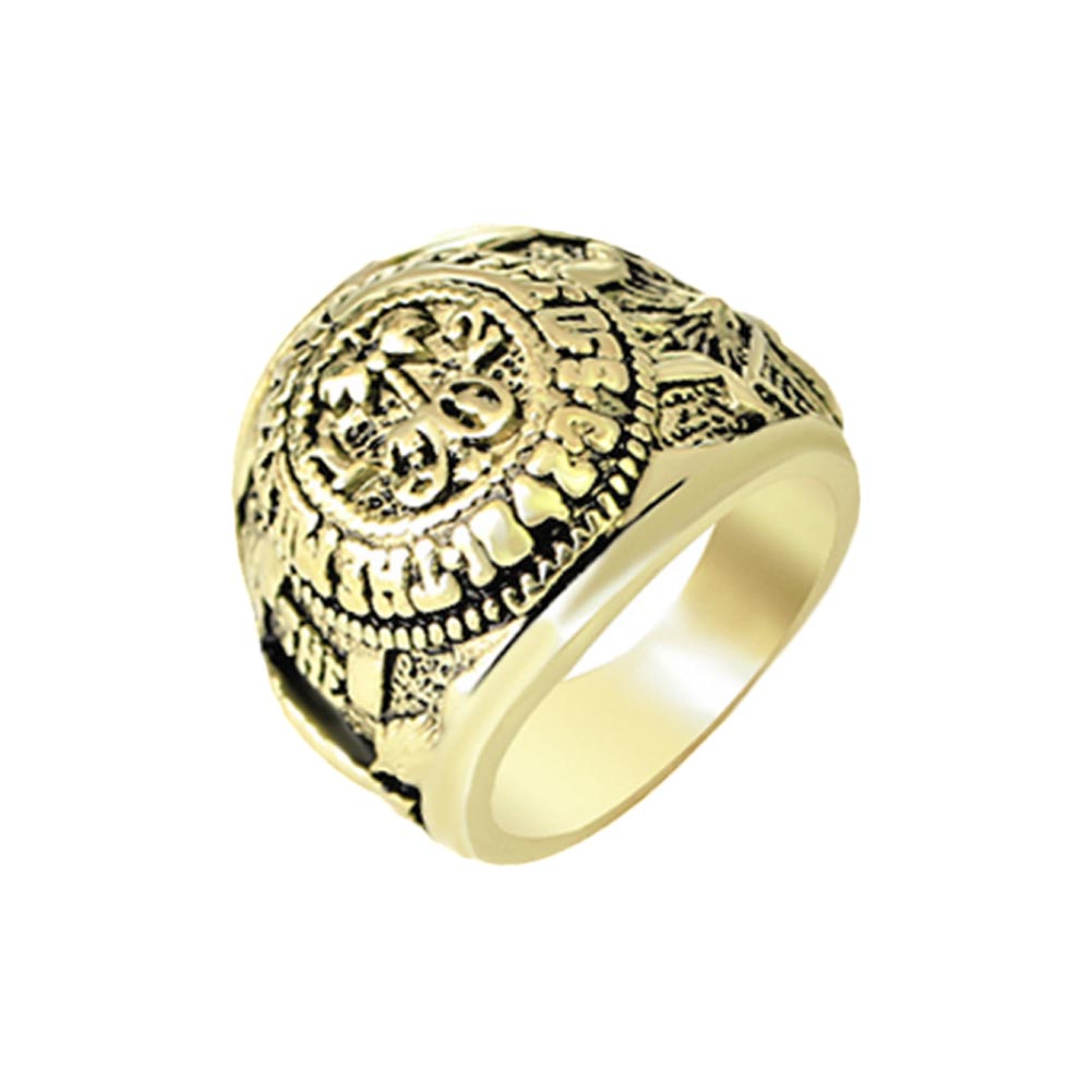 House Of Cards Rings For Men Women Antique Alloy Male Female Ring Vintage Fashion Jewelry
