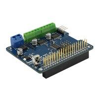 Elecrowステッパー帽子モータ用ラズベリーパイ3モデルb 2b a + b +ゼロステッピングサーボモータir romote拡張ボードdiyロボットキッ
