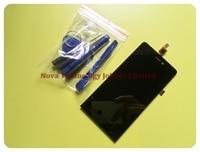 Wyieno Black Indigo Sesnor For Explay Indigo LCD Display +Touch Screen Digitizer Screen Assembly +3M sticker
