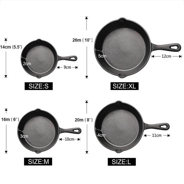 Black Cast Iron Pan