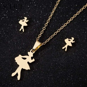 SMJEL Romantic Ballet Necklace