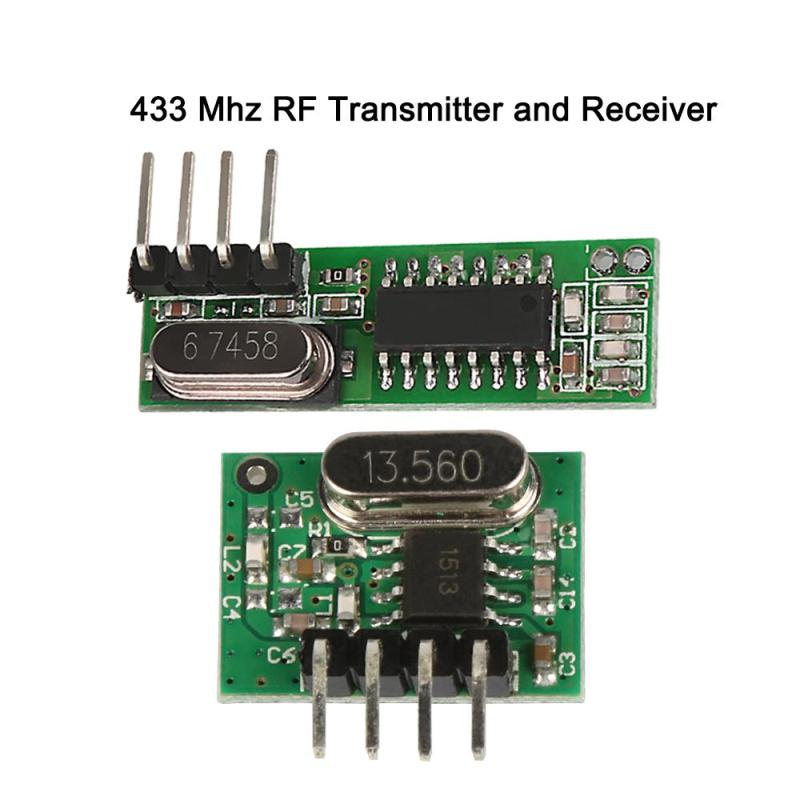 433 Mhz Transmitter and Receiver superheterodyne UHF ASK remote control Module kits For font b Arduino