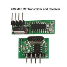 433 Mhz Transmitter and Receiver superheterodyne UHF ASK remote control Module kits For Arduino uno 433Mhz Switch control Z3