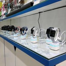 Support de sécurité pour montre 5 pièces, Iwatch, alarme Anti vol pour Sony, support daffichage Apple Watch, système dalarme contrôle sans fil
