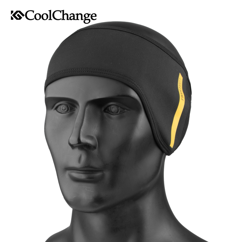 CoolChange Cycling Headband Winter Warm Outdoor Sports Windproof Bicycle Polar Fleece Elastic Earmuffs Protective Bike Headbands