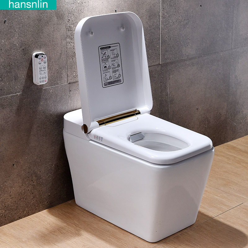 Eco Smart Toilet Commode Washlet Toilet Bowl Heated Seat