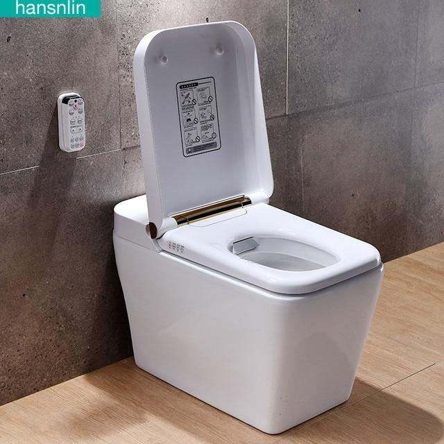 Eco Smart Toilet Commode Washlet Toilet Bowl Heated Seat