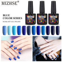 MIZHSE Gel nail polish Hybrid Manicure Set All For Semi Permanent Vernis Top Coat UV LED Gel Varnish Nail Art Gel Lak Polishes(China)