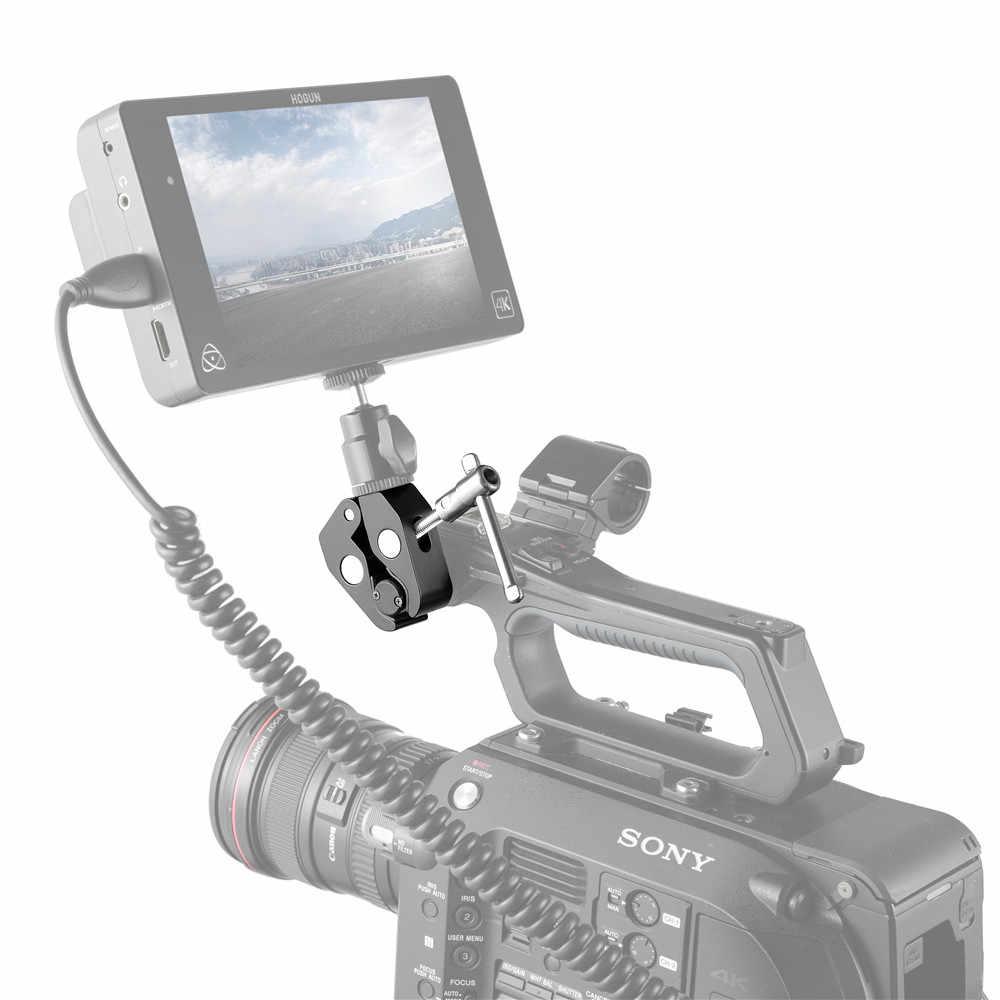 "SmallRig Super zacisk z gwintem 1/4 ""i 3/8"" do ramka do kamery Dslr LCD Monitor LED Quick Release Clamp -735"