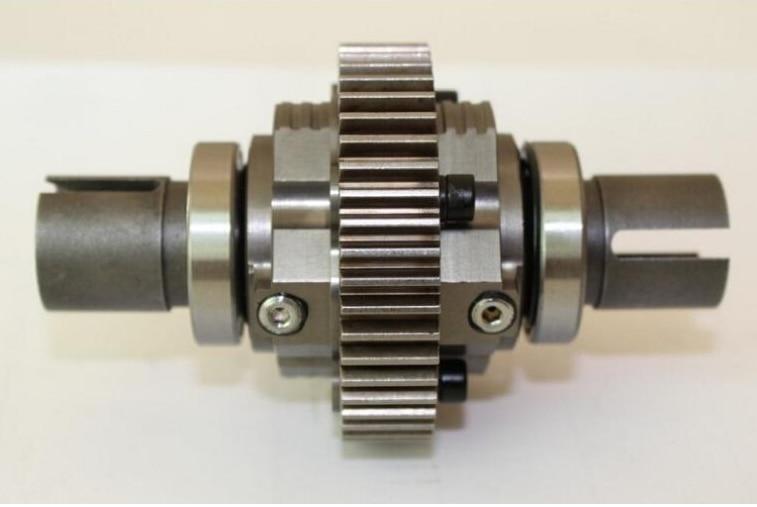 alloy complete diff gear set For 1/5 HPI rovan km Baja 5B 5t 5sc rc car parts 45kg metal gear plastic shell digital steering arm for 1 5 hpi baja 5b 5sc 5t rc car parts