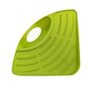 Image 4 - חם 1 PC אמבטיה מטבח כיור פינת אחסון מדף ארגונית ספונג רב תכליתי מדף קיר מטבח מדף צלחת ניקוז חומרה
