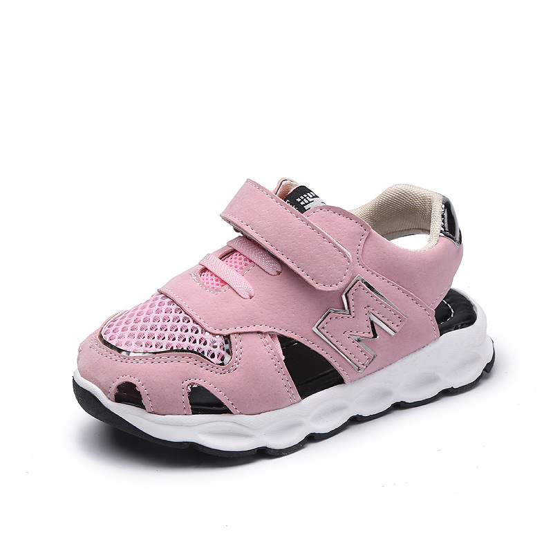 Mudibear Summer 2018 Children Shoes Kids Sandals Boys Soft Leather Beach Sandals Girls Breathable Casual Shoes Cut-Outs Sandalia