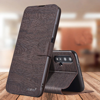 Funda de cuero con tapa para Huawei Nova 5T, funda de libro de lujo con billetera para Huawei Nova 5T, Nova5T 5T