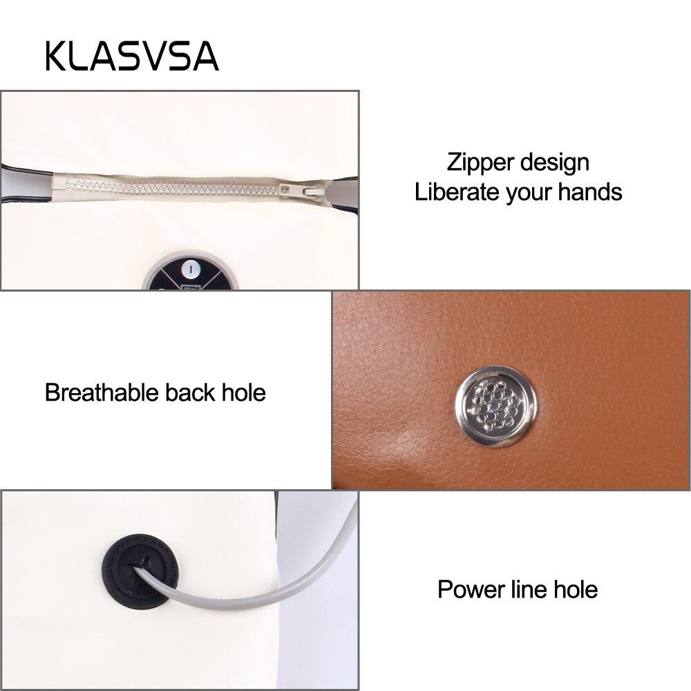 KLASVSA الكهربائية الرقبة الكتف يطرق مدلك شال عنق الرحم الخلفي الخصر قطني تدليك الرأس جهاز الرعاية الصحية 4 KnockHeads-في التدليك والاسترخاء من الجمال والصحة على  مجموعة 3