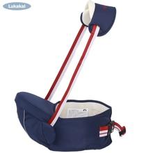 Хипсит для переноски детей 2 24 месяцев, слинг для ребенка, дышащий, поясной ремень, кенгуру для детей