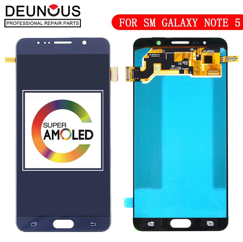 New 5.7 SUPER AMOLED Display for SAMSUNG Galaxy Note 5 LCD N9200 N920F N920A N920T N920C N920V N920F Touch Screen DigitizerNew 5.7 SUPER AMOLED Display for SAMSUNG Galaxy Note 5 LCD N9200 N920F N920A N920T N920C N920V N920F Touch Screen Digitizer