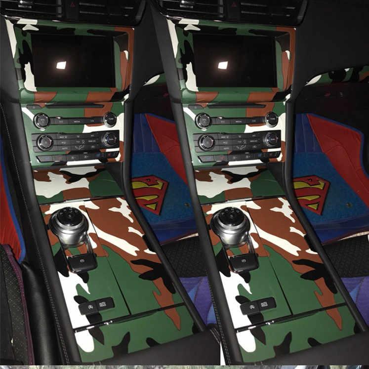 40x152 CM PVC Auto-adesivo Etiqueta Do Carro Envoltório de Vinil Film Digital Camo Militar Do Exército Camuflagem Verde Automóveis motocicleta Decalque