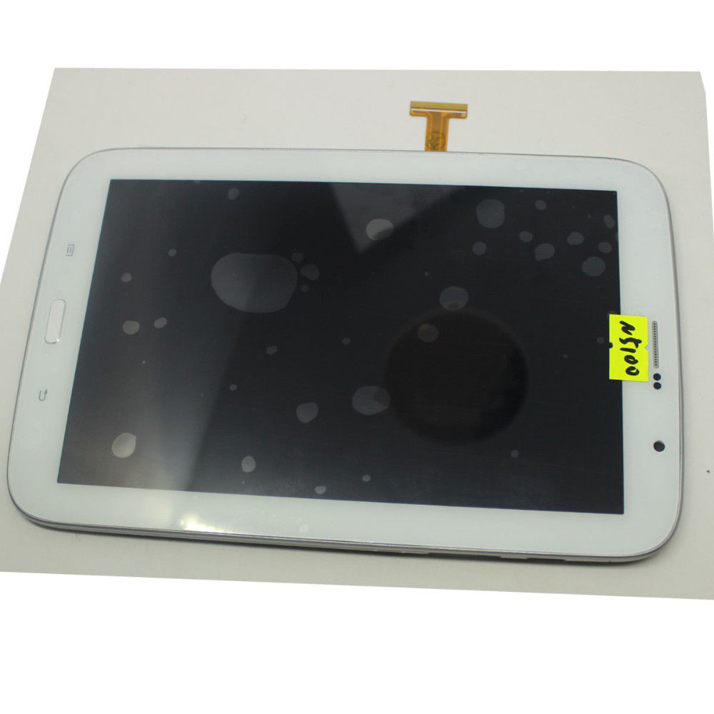 OEM LCD Display Touch Screen Digitizer & Front Frame For Samsung Galaxy Note 8.0 N5100 3G White
