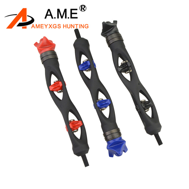Wear-resistant Archery Shock Absorber Durable Univesal Compact Arrow Equipment for Compound Bow Ichiias Archery Vibration Dampener