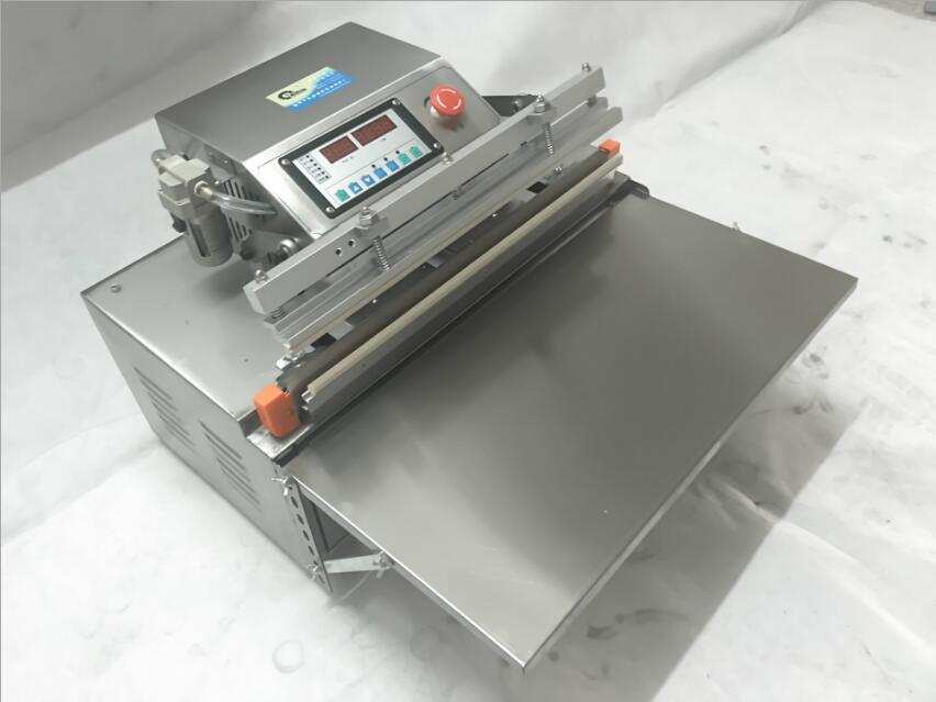 Image 3 - 500 External vacuum packaging Automatic Food Vacuum Sealer Food Packing Machine Continous Bag Vacuum Sealing Machine Food SaverVacuum Food Sealers   -