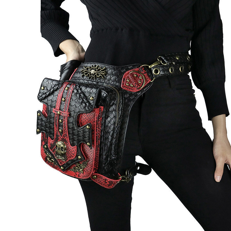 2019 Multifunction High capacity Bag Fanny Pack Travel Waist Festival Money Belt PU Leather Pouch Holiday