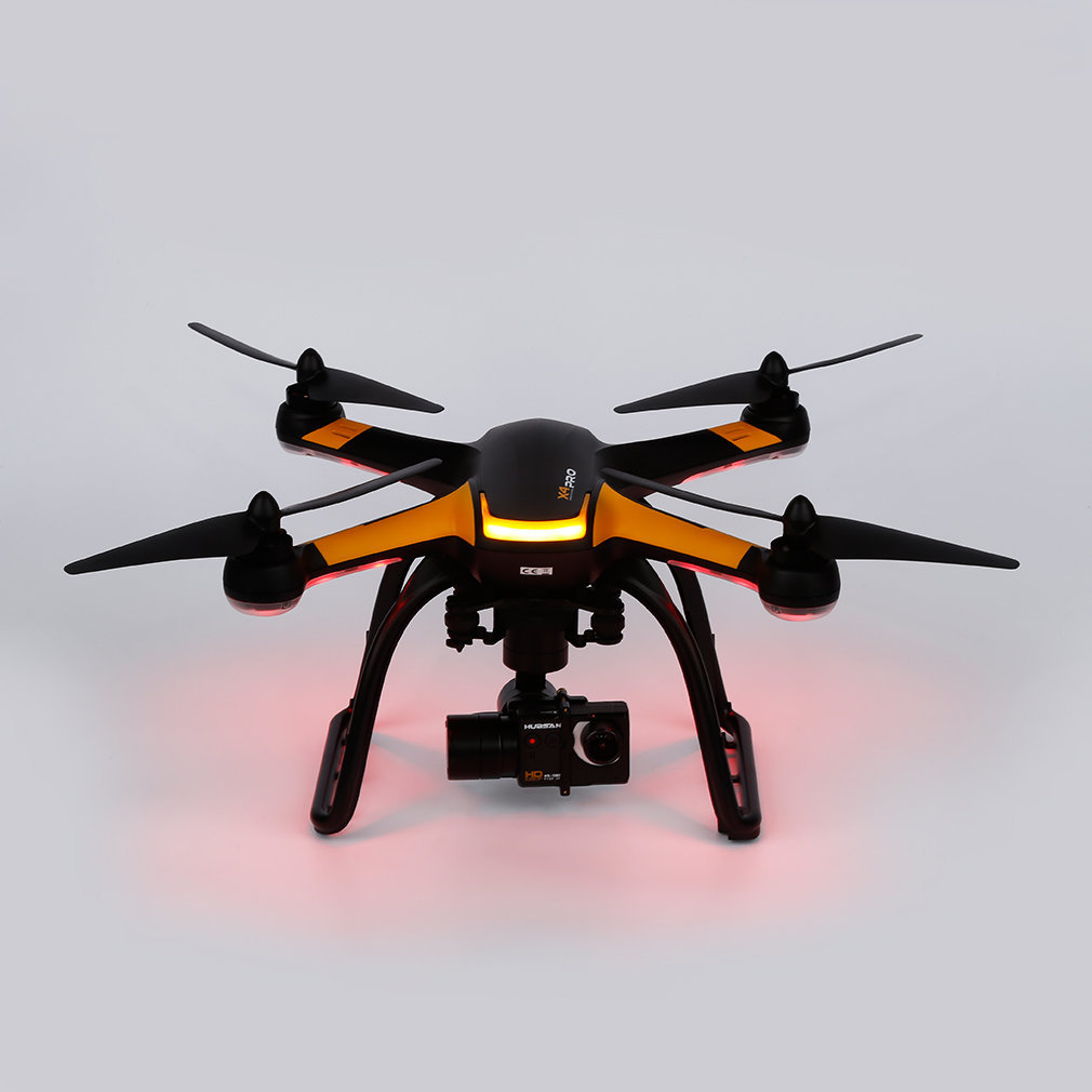 Hubsan Black RC Drone X4 Pro H109S 5.8G FPV with 1080P HD Camera 1 Axis Gimbal GPS 7CH Quadcopter RTF Drone Standard Edition New yuneec typhoon h 5 8g fpv drone with realsense module cgo3 4k camera 3 axis gimbal 7 inch touchscreen rc hexacopter rtf
