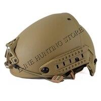 High Quality Heavy Duty Tactical Military Helmet Army Combat Helmet Air Frame Crye Precision Helmet Tan