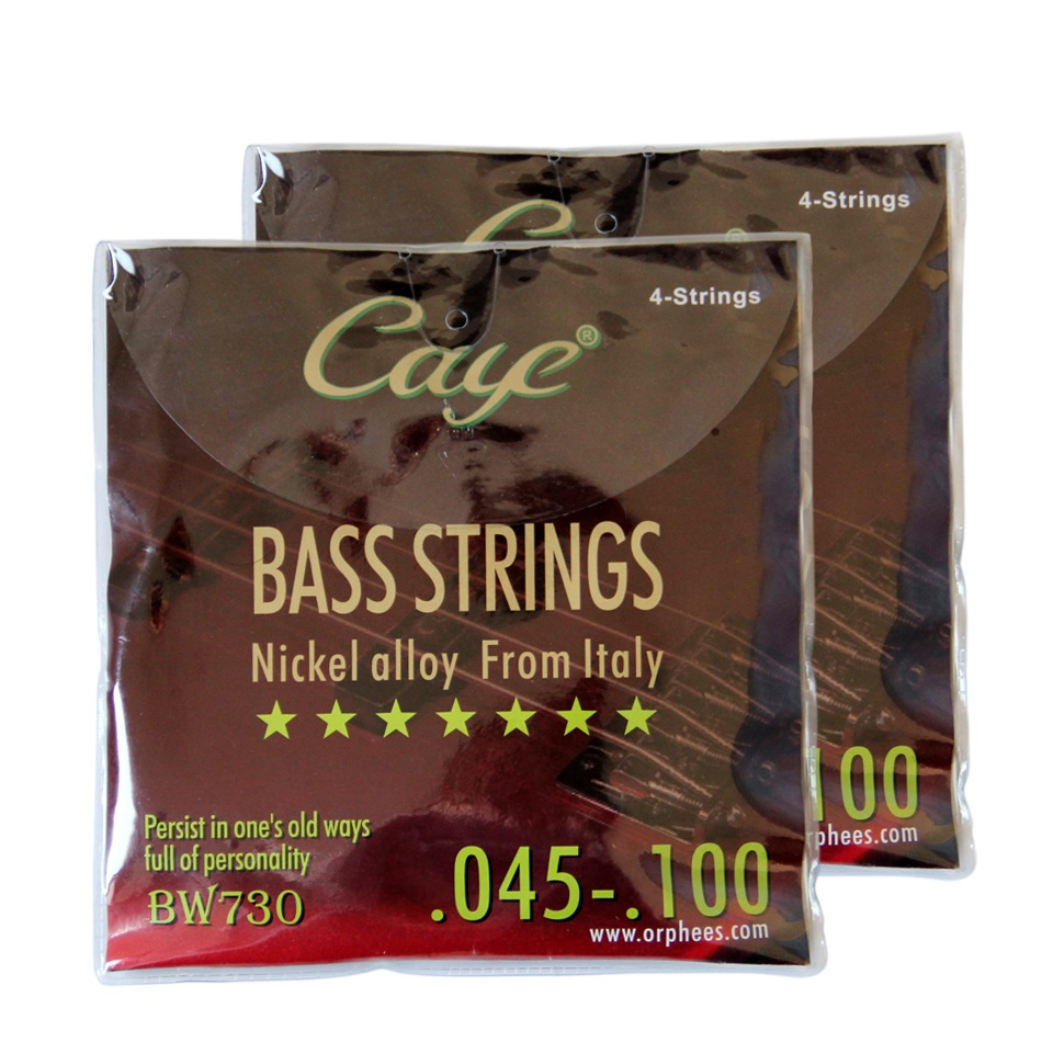 Orphee BASS Strings EW Series Guitarra 4 Strings 045-100 Nicel Alloy From Italy