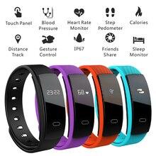 Новый QS80 смарт-браслет Приборы для измерения артериального давления браслет Фитнес сна измерять частоту сердечных сокращений Водонепроницаемый средства отслеживания вызовов для iOS и Android