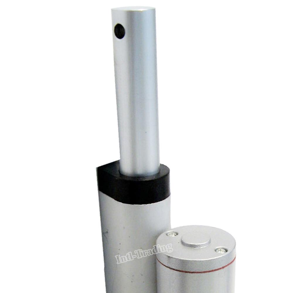 """Heavy Duty 12/"""" Stroke Linear Actuator 220lbs 14mm//s 100KG 12V DC Motor Brackets"""