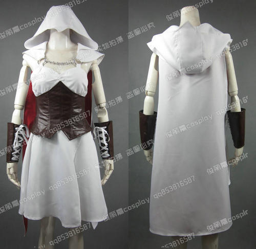 Hot Game Movie Anime Assassins Creed copse for female Uniform Cosplay Costume Any Size Free Shipping