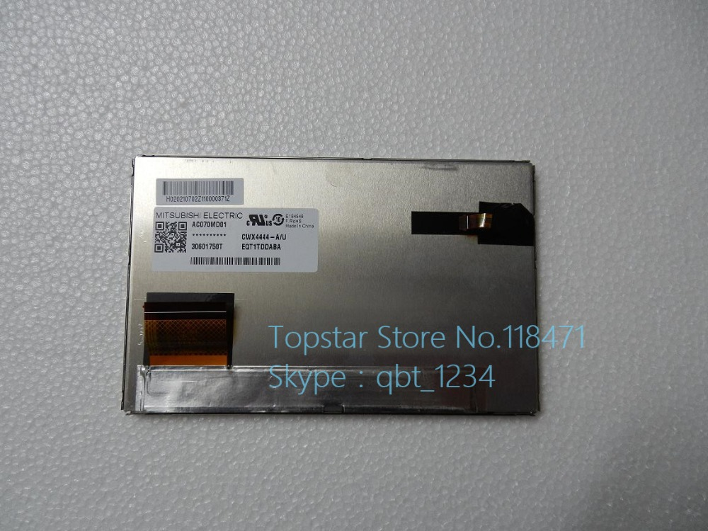 7.0 Inch  AC070MD01 TFT LCD Display  LCD Module For Mitsubishi