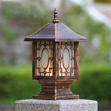 Europe fence wall lamp post column headlights outdoor garden lights waterproof retro door lighting WCS-OCL0012