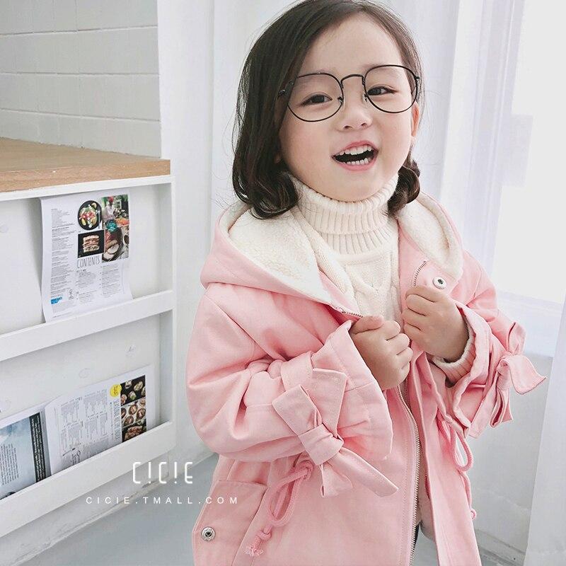 Windbreaker Children Baby Girls Jacket Toddler Uniform Long Sleeve Button-front Hooded JacketWindbreaker Children Baby Girls Jacket Toddler Uniform Long Sleeve Button-front Hooded Jacket