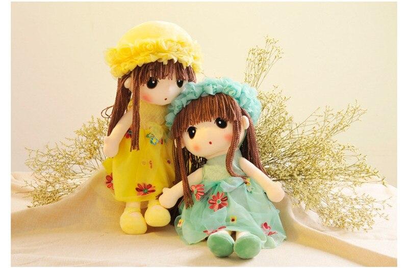 35cm Plush Toy Cute Girl Rag Doll Variety Of optional Birthday Gift Tanabata Creative Gift19