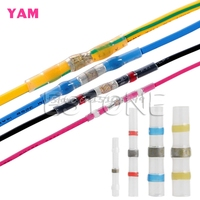 100Pcs 26 10AWG Assorted Solder Sleeve Heat Shrink Butt Wire Splice Connector