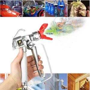 Image 5 - 3600PSI di Alta Pressione della Vernice Airless Pistola A Spruzzo + 517 Spray Tip + Ugello Guard per Wagner Titan Spruzzatore della Pompa A Spruzzo macchina