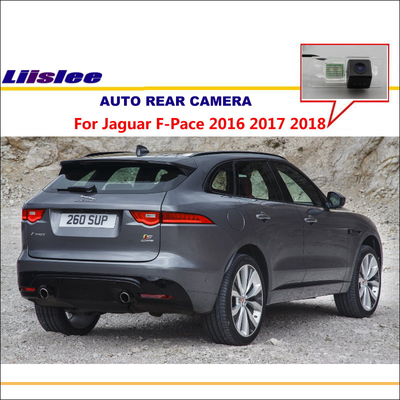 Car Rear Reverse Camera For Jaguar F-Pace 2016 2017 2018  / Back Parking Camera / HD CCD / License Plate Light Camera