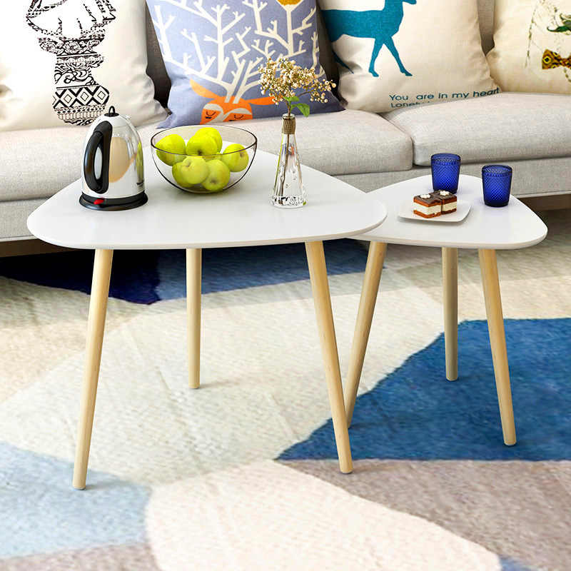 Admirable Magic Union Modern Round Wood Center Table Living Room Furniture Contemporary Sofa Side Table Wooden Casual Tea Table Home Interior And Landscaping Oversignezvosmurscom