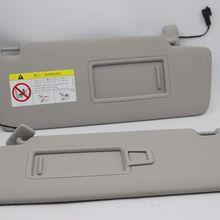 Нанесите на Гольф 7 MK7 косметическое зеркало солнцезащитный козырек затенение доска бежевый серый