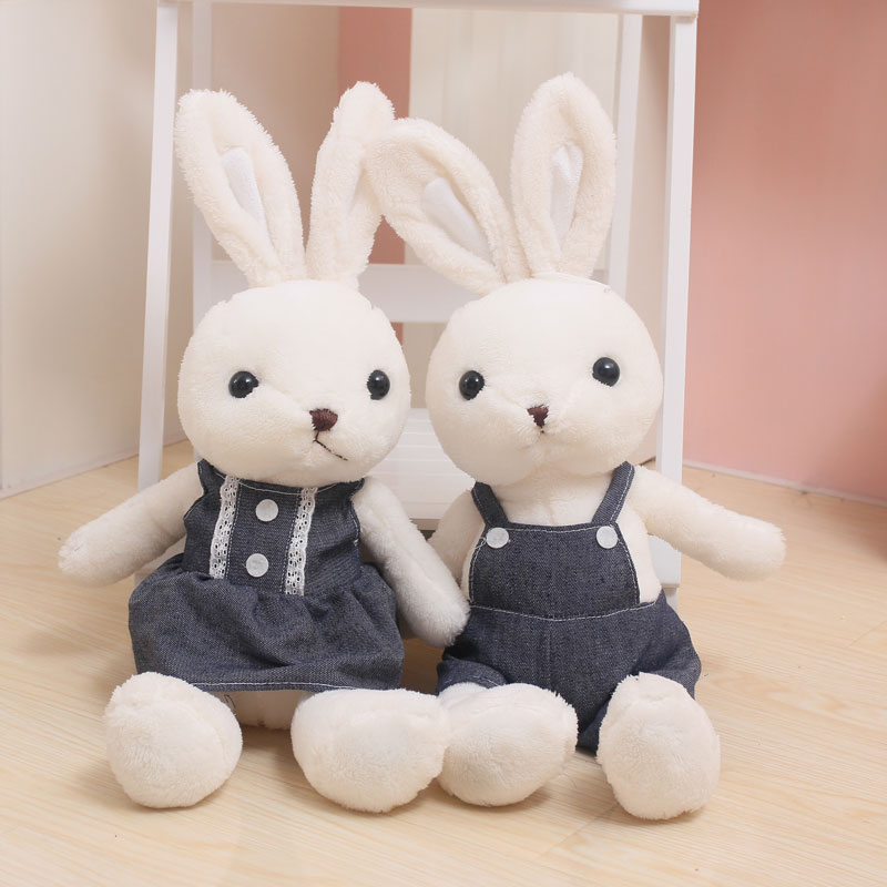60cm high quality plush rabbit toy cute bunny stuffed soft toy baby appease doll kids toys gift for boys and girls 30cm plush toy stuffed toy high quality goofy dog goofy toy lovey cute doll gift for children free shipping